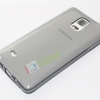 เคส Galaxy NOTE 4 ซิลิโคน TPU นิ่มมือ สวยหรู สีเทาดำ เรียบ ส่งฟรี