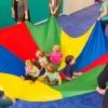 Rainbow Parachute - 5M Diameter เกมพาราชูท 5 เมตร