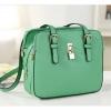 กระเป๋า Axixi กระเป๋าสไตล์ญี่ปุ่น และสไตล์เกาหลี มี 2 โทนสีให้เลือก เชอร์รี่โรส และสีเขียวหญ้า
