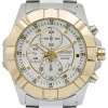 Seiko two tone Chronograph watch SNDD74P1
