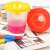 ถ้วยล้างพู่กัน เหลือง Childrens Paint Brush and Non-Spill Paint Pot