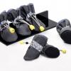 รองเท้าสุนัข รองเท้าแมว สีดำ (4 ข้าง)