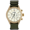 Fossil Men's DE5001 Green Nylon