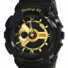 Casio Baby-G BA-110-1ADR black gold series