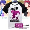 เสื้อ Rin matsuoka ver cartoon [Free!]