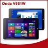 Onda V961W Windows 8.1 Tablet 9.6 นิ้ว IPS RAM 2G ROM 32G ใส่ซิมได้ เล่นเนต 3G แถมคีย์บอร์ด บูลทูธ