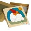 Uncle Wood - 3 layer Jigsaw Puzzle 'Polar Bear' ตัวต่อจิ๊กซอว์ไม้-หมีขั้วโลก