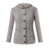 New Style Womens Long Sleeve Hoodie Coat Cardigan Tops TrenchSweater Knitwear