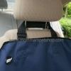 ผ้ารองเบาะรถยนต์สำหรับสัตว์เลี้ยง แบบ 1 ที่นั่ง