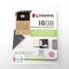 แฟลชไดร์ฟ 2 หัว DUO USB กับ Micro USB 16GB Kingston ของแท้ ประกันศูนย์ไทย