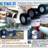 PE Tape (Polyken Wrapping Tape) เทปพีอีสีดำ และเทปพีอีสีขาว สำหรับงานพันท่อใต้ดิน เพื่อป้องกันสนิมป้องกันการกัดกร่อนที่ท่อ โทร.084-7849490 มณีรัตน์