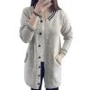 Winter Women Knit Loose Long Cardigan