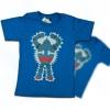T-Shirt เสื้อยืดเด็ก เสื้อยืดกันดั้ม Tetsujin (Zaku II) สุดเท่ห์ สีฟ้า จากร้าน GUNZU !!โปรโมชั่น (พร้อมส่ง) เสื้อยืดเด็ก!!