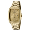 Seiko Men's SXD838P1 Gold Dial Gold-Tone Stainless Steel Watch