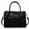 กระเป๋า Axixi กระเป๋าสไตล์ญี่ปุ่น และกระเป๋าสไตล์เกาหลี มาในโทนสีดำ ประดับด้วยเกล็ดเลื่อม ร้าน Asia Street Fashion