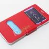 เคส Galaxy NOTE 4 SMART CASE ฝาปิดมีช่องสไลด์ สีแดง ส่งฟรี