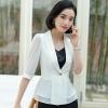 เสื้อสูทแฟชั่น เสื้อสูทสำหรับผู้หญิง พร้อมส่ง สีขาว ผ้าคอตตอน 100 % เนื้อดี คุณภาพงานพรีเมี่ยม