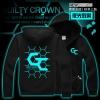 Preorder เสื้อแจ็คเก็ตฮู้ดดี้ Guilty Crown ลายเรืองแสง