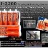 SCI-2200 100% Acetoxy Glazing & Building Sealant ซิลิโคน 100% SCI-2200 ชนิดมีกรดระเหย แห้งตัวเร็ว สำหรับงานกระจก ตู้ปลา เครื่องทำความเย็น อลูมิเนียม ห้องเย็น