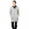 Squareladies เสื้อโค้ทไหมพรมกันหนาวแบบหนา No.J1029 (สีเทา)