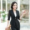 เสื้อสูทแฟชั่น เสื้อสูทสำหรับผู้หญิง พร้อมส่ง สีดำ ผ้าคอตตอน 100 % เนื้อดี คุณภาพงานพรีเมี่ยม