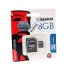 Micro SD Card 8GB Kingston (SDC4, Class 4) ของแท้ ประกันศูนย์ไทย