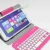 Keyboard Bluetooth พร้อมเคสวางตั้งได้ สำหรับแท็บเล็ต 7-8 นิ้ว