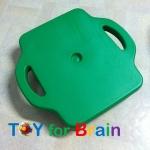 Scooter Board with safety handles สำหรับฝึกกล้ามเนื้อเด็ก - Green