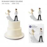 RUNAWAY BRIDE FIGURINE Decorating Tools ตุ๊กตาตกแต่งบนเค้ก (Wilton 1006-7142)