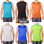 AND1 Men's Mad Skills Sleeveless Top ( New Stock 17-06-60)