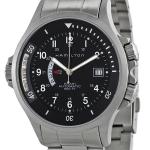 Hamilton Men's H77615133 Navy GMT Black Dial Watch