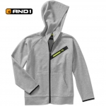 AND1 FULL ZIP HOODIE JACKET