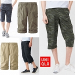UNIQLO Roll Up 3/4 Cargo Pants