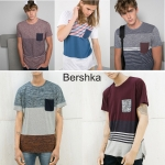 Bershka Men's Pocket Detail T-Shirt ( new update 20-01-17)