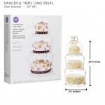 GRACEFUL TIERS CAKE STAND (Wilton 307-841) / สแตนวางเค้ก 3ชั้น