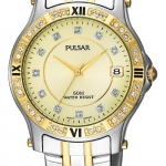 Pulsar Men's PXH558 Crystal Two-Tone Watch