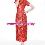 เช่าชุดกี่เพ้าแบบสั้นและแบบยาวเช่าชุดจีน สีทอง สีแดง สีชมพู สีบานเย็น สีฟ้า ให้เช่าถูกสุดๆ 350-490/ชุด 094-920-9400 , 094-920-9402