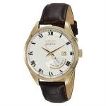 นาฬิกาข้อมือ Seiko Kinetic Brown Leather Strap SRN074P1