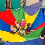 Rainbow Parachute - 6M Diameter เกมพาราชูท 6 เมตร