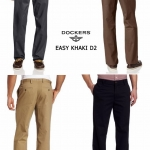 DOCKERS Easy Khaki D2 Straight Fit