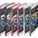 Bumper Aluminium แบบล็อค สำหรับ HTC ONE M7