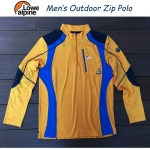 Lowie Alpine Outdoor Zip Polo