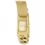 Guess W0321L2 43mm Gold Steel Bracelet & Case Mineral Women's Watch