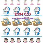DRM053 กระดาษแนพกิ้น 21x30ซม. ลายโดราเอม่อน