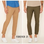 Forever 21 Men's Cotton Slim Pant
