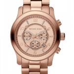 Michael Kors Men's Watch Rose Gold Oversize Runway MK8096