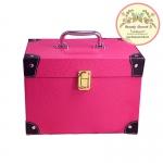 Beautysecretd MakeUp Cosmetic Case ( Pink ) กระเป๋าเก็บเครื่องสำอาง กล่องเก็บอุปกรณ์แต่งหน้า