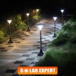 P09 ไฟโซล่าเซลล์ตั้งพื้น 24 LED