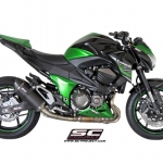 Kawasaki Z800 Oval Matt Carbon