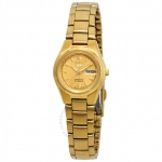 Seiko Women's SYMC18K1 Automatic Gold Tone Watch